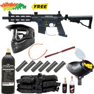 US Army Paintball Gun Package