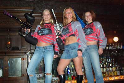 Coyote Paintball Girls