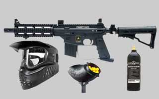 Popular Paintball Gun Packages