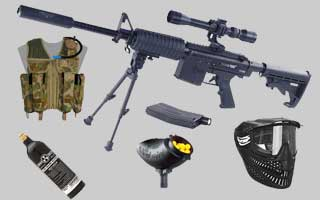 RAP4 T68 Paintball Gun Packages