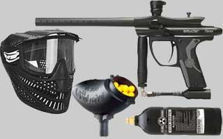 Spyder Paintball Gun Packages