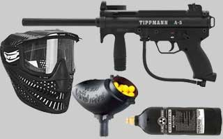 Tippmann Paintball Gun Packages