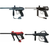 Cheap on Cheap Paintball Guns
