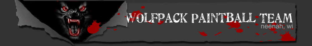 wolfpack paintball team logo