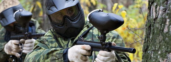 Typical Paintball Equipment