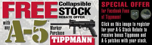 Tippmann A-5 Rebate